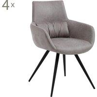 Set de 4 sillas Tina