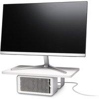 Kensington K55855EU CoolView Wellness Monitor Stand with Desk Fan