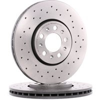 Imagine Brembo Dischi Freno Vw,audi,skoda 09.7010.2x 1j0615301,1j0615301c,1j0615301k