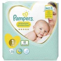 foto Pampers Protección Premium Bebé Recién Nacido Talla 1 23 Pañales 2-5 kg