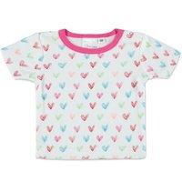 Pink or blue Camisa corazón