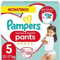 foto Pampers Premium Protection Pañales Tamaño 5 132 Pañales 12 - 17 kg Caja mensual