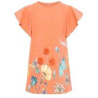 name it Girls T-Shirt Halizette Emberglow - rosa/pink - Gr.104 - Mädchen