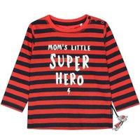 Staccato Boys Shirt red gestreift - rot - Gr.Babymode (6 - 24 Monate) - Jungen