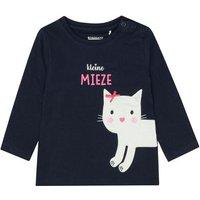 Staccato Girls Shirt navy kleine Mieze - blau - Gr.Babymode (6 - 24 Monate) - Mädchen