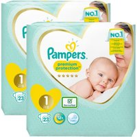 foto Pampers Premium Protection New Baby Newborn Tamaño 1 2 x 23 Pañales 2 a 5 kg