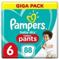 foto Pampers Pañales secos para bebés Gr. 6 Extra Large 88 pañales 15+ kg Giga Pack