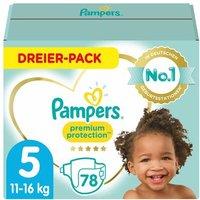 foto Pampers Premium Protection Gr. 5 Junior 78 pañales de 11 a 16 kg tres paquetes