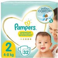 foto Pampers Premium Protection Gr. 2 New Baby Mini 32 pañales 4 a 8 kg de carga