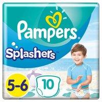 foto Pampers Splash de tamaño 5-6, 10 pañales de baño desechables