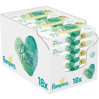 foto Pampers Coconut Pure Toallitas húmedas 18 x 42 unidades (756 unidades)