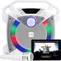'Rockjam Portable Bluetooth Karaoke Machine