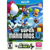 'New Super Mario Bros + New Super Luigi Wii U - Game Code