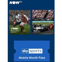'Now Tv - Sky Sports Mobile Month Pass