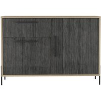 Product photograph showing Harvard Small Sideboard - Washed Oak