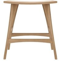 Product photograph showing Ethnicraft Oak Osso Counter Stool