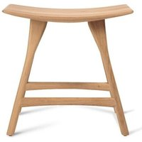 Product photograph showing Ethnicraft Oak Osso Contract Grade Stool