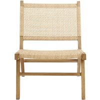 Product photograph showing Nordal Vasai Natural Garden Lounge Chair