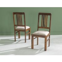 Product photograph showing Sheesham Dining Chair