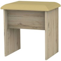 Product photograph showing Clearance - Camden Bordeaux Stool - New - P-30