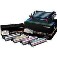 Lexmark - 4-pack - black, colour (cyan, magenta, yellow) - original - printer imaging unit - LCCP