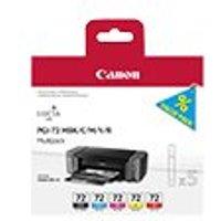 Canon PGI-72 MBK/C/M/Y/R Multipack - 5-pack - yellow, cyan, magenta, red, matte black - original - ink tank