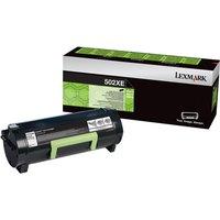 Lexmark 502X - Extra High Yield - black - original - toner cartridge - Lexmark Corporate