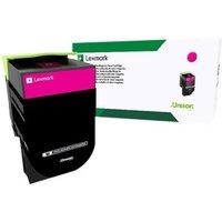 Lexmark 802SM - magenta - original - toner cartridge - LCCP, LRP