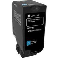 Lexmark - High Yield - cyan - original - toner cartridge - LCCP, Lexmark Corporate