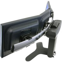 Ergotron LX Widescreen Dual Display Lift Stand - stand - for three smaller displays or two larger displays