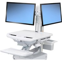 Ergotron SV Dual Monitor Kit - stand - for 2 LCD displays (adjustable arm)