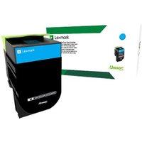 Lexmark 802SC - cyan - original - toner cartridge - LCCP, LRP