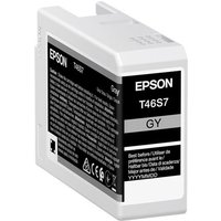 Epson T46S7 - grey - original - ink cartridge