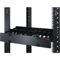 APC Horizontal Cable Manager Single-Sided with Cover rack cable management kit - 1U