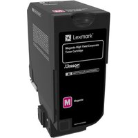 Lexmark - High Yield - magenta - original - toner cartridge - LCCP, Lexmark Corporate