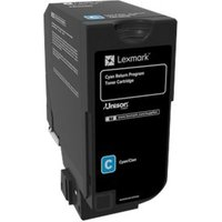 Lexmark - cyan - original - toner cartridge - LCCP