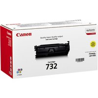 Canon 732 Y - yellow - original - toner cartridge