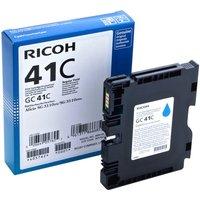 Ricoh - cyan - original - ink cartridge