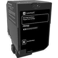 Lexmark - High Yield - black - original - toner cartridge - LCCP, LRP