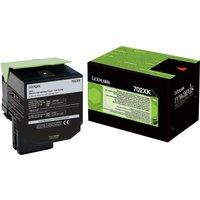 Lexmark 702XK - Extra High Yield - black - original - toner cartridge - LCCP, LRP