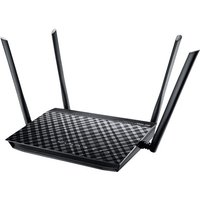 ASUS RT-AC1200G+ - wireless router - 802.11a/b/g/n/ac - desktop