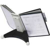 Image of DURABLE SHERPA TABLE - display panel system - for A4 - grey, black