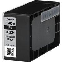 Canon PGI-1500XL BK - High Yield - black - original - ink tank