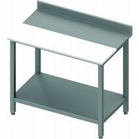 Table de découpe inox pour cuisine - avec etagère - profondeur 800 - stalgast      1600x800                    800. Table de découpe inox pour cuisine