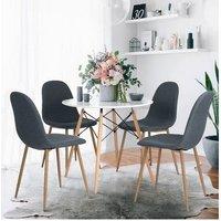 Table salle à manger ronde blanche 80cm. Table à manger laquée ronde ø 80 Quoi de plus conviviale qu'une table ronde pour partager un dîner