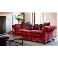 Product photograph showing Duresta Connaught Fabric Medium Sofa