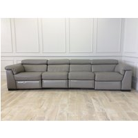 Product photograph showing Francesca 4 Seater With 4 Electric Recliners