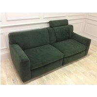 Product photograph showing Lana 3 Seater Sofa With Storage Unit In Velvet Brezza 09