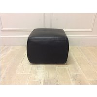Italian Premium Leather Footstool in 20JF