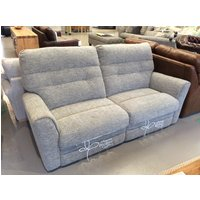 Product photograph showing Molly 3 Seater Sofa With Manual Recliner